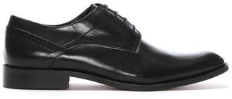 Daniel Dinton Black Leather Smart Lace Up Shoes