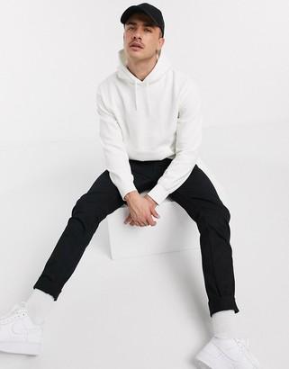 Topman hoodie in white
