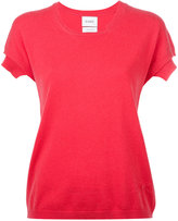 Barrie - knitted T-shirt - women - Cashmere - S