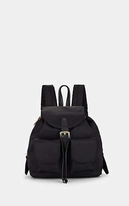 Barneys New York Women's Tech-Twill Backpack - Black