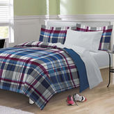 MY ROOM My Room Varsity Plaid Complete Bedding Set with Sheets