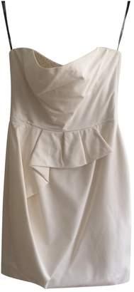 Lela Rose White Silk Dress for Women