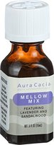 Aura Cacia Essential Solutions Oil Blend, Mellow Mix, 0.5 fluid ounce (Pack of 2) by