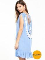 Very Tassel Back Beach Dress