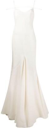 Jacquemus La Robe Camargue linen dress