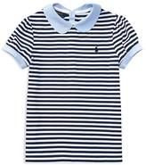 Ralph Lauren Girls' Stripe Jersey Knit Top - Big Kid