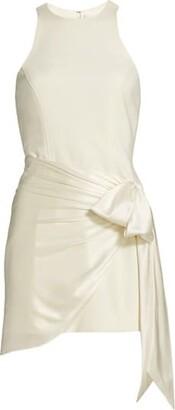 Cinq à Sept Windsor Sash-Tie Mini Dress