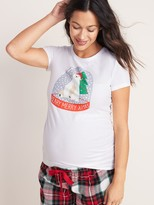 Old Navy Maternity Slim-Fit Graphic Tee