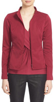 Lafayette 148 New York Laura Stand Collar Jacket