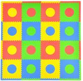 Tadpoles Playmat, Circles/Multi/Primary by