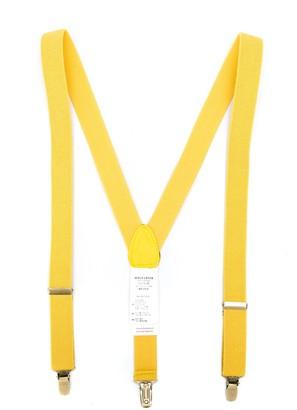 Wolf & Rita Delfim plain suspenders