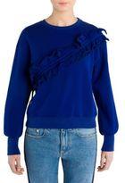 MSGM Knit Cotton Sweatshirt