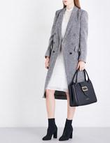 Burberry Trentwood Donegal herringbone wool-tweed coat