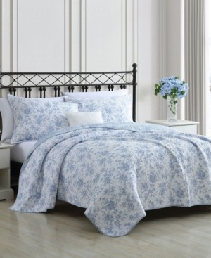 Laura Ashley Walled Garden Twin Quilt Set Bedding