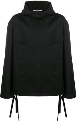 Valentino Hooded Lightweight Jacket