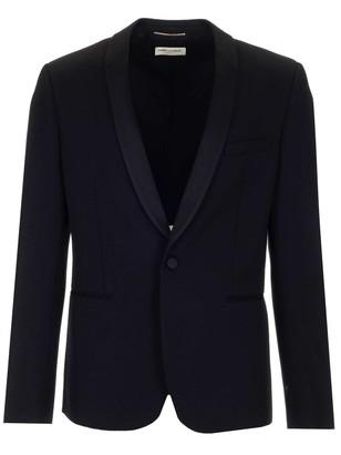 Saint Laurent Shawl Collar Jacket