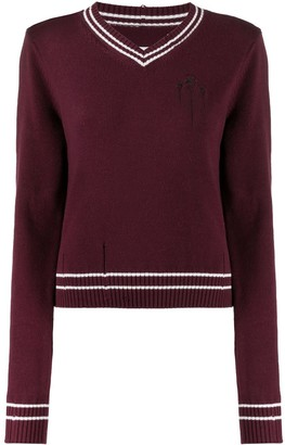 Maison Margiela V-Neck Jumper