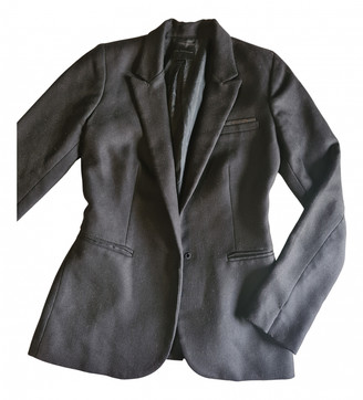 Hotel Particulier Black Wool Jackets