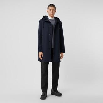 Burberry Organic Cotton Gabardine Hooded Coat