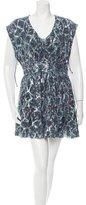 IRO Printed Silk Dress w/ Tags