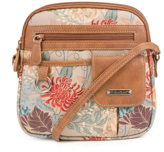 ST. JOHN'S BAY North South Zip Around Crossbody Bag