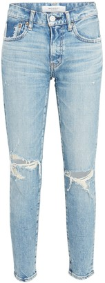 Moussy Billings Distressed Skinny Jeans