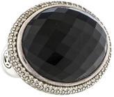 David Yurman Onyx & Diamond Ring