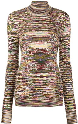Missoni Knitted Roll-Neck Jumper