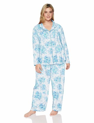 Karen Neuburger Women's Plus Size Long-Sleeve Girlfriend Pajama Set PJ