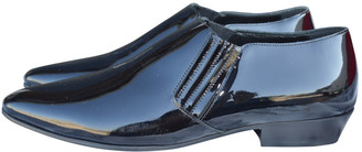 Saint Laurent Smocking Black Patent leather Lace ups