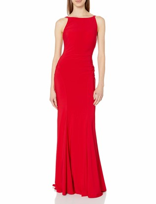 Mac Duggal Women's Gown with Open Back