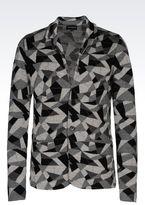 Emporio Armani Runway Knit Jacket