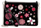 Chelsea28 Embellished Faux Leather Clutch - None