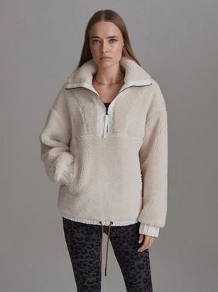 Varley Appleton Eggnog Sherpa Fleece - S