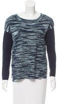 Karen Millen Open-Knit Long Sleeve Sweater