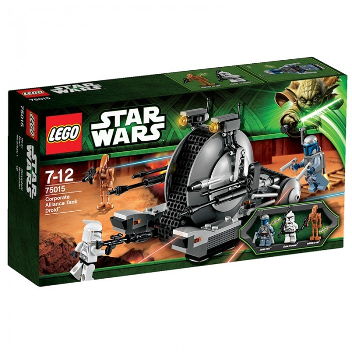 Star Wars Lego Corporate Alliance Tank Droid