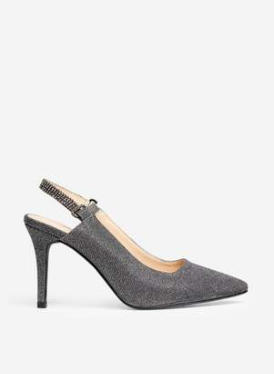 Dorothy Perkins Womens **Showcase Grey 'Pewter' Court Shoes, Grey