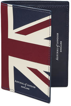 Aspinal of London Credit Card Wallet with Notes Pocket