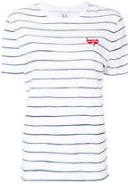 Zoe Karssen striped embroidered T-shirt