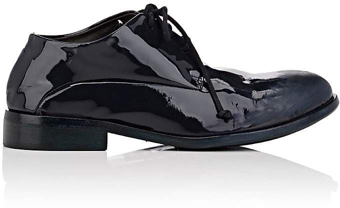 Marsèll Women's Distressed Patent Leather Oxfords