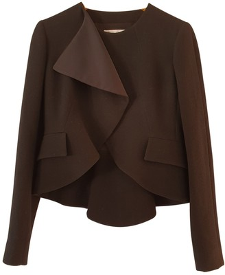 Christian Dior Black Wool Jackets