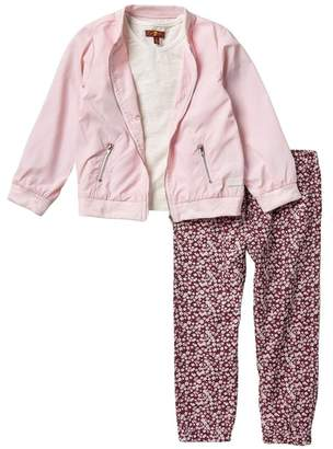 7 For All Mankind 3-Piece Jacket Set (Little Girls)