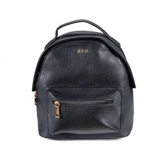 ThreeSixFive Gun Metal Grey Vegan Leather Mini Backpack