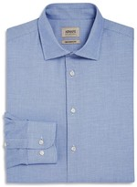 Armani Collezioni Micro Print Classic Fit Dress Shirt