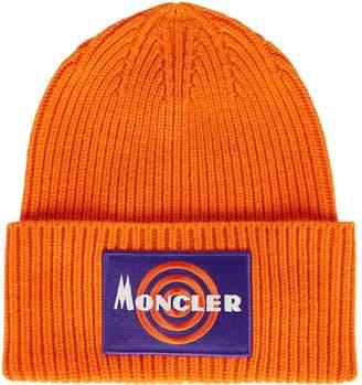 Moncler Logo Wool-Cashmere Hat