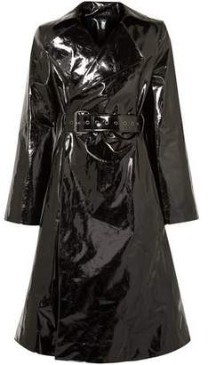 Gareth Pugh Belted Pvc Trench Coat