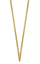 Sports Collection Jewelry Gold Plated Sterling Silver Necklace 29778