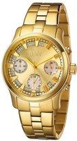 "JBW Women's JB-6217-E ""Alessandra"" Gold-Tone Chronograph Diamond Watch"