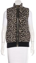 Tory Burch Reversible Zip-Front Vest
