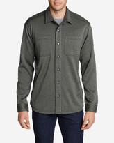 Eddie Bauer Men's Radiator Sweater Fleece Shirt Jacket